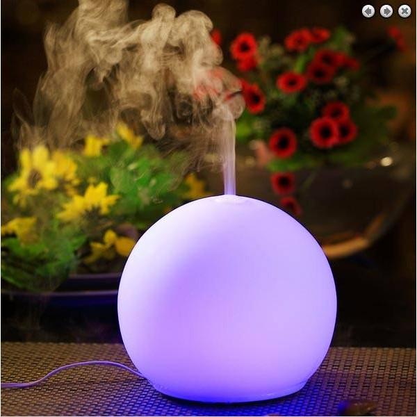 Diffuseur d'huile essentielle avec fonction lampe décorative Ozen