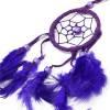 Capteur de rêve petit format couleur Violet original artisanal