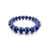 Bracelet yogi Lapis-Lazuli 10 mm joli diamètre de perles