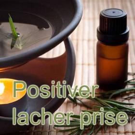 Synergie d'huiles essentielles pour positiver