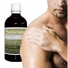 Huile de massage anti douleur musculaire 100 ml