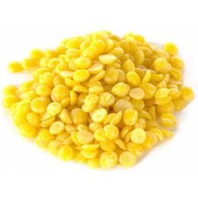Cire d'abeille naturelle 100 gr jaune pour préparations soins et cosmetiques