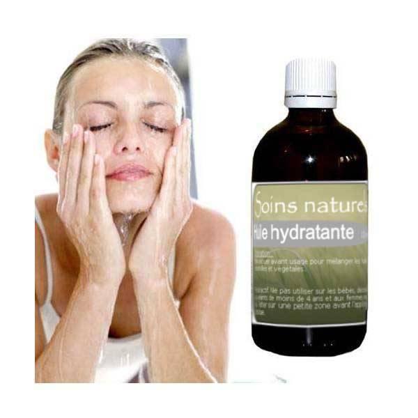 Huile de soin hydratante aux huiles essentielles