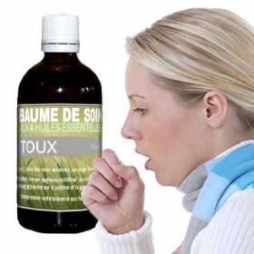 Baume contre la toux aux huiles essentielles 100 ml