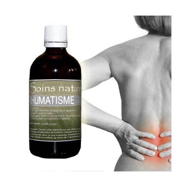 Huile de soin apaisante contre le rhumatisme 100 ml