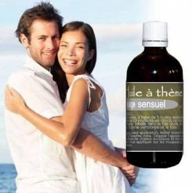 Huile de massage aphrodisiaque aux huiles essentielles 100 ml