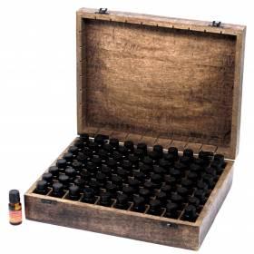 Coffret 80 flacons d'huiles essentielles
