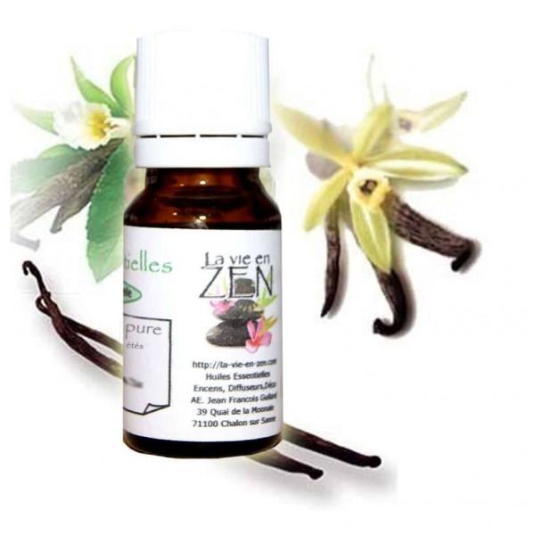 Absolu de vanilline 10 ml offerte ! Ou huile au choix parmi une sélection