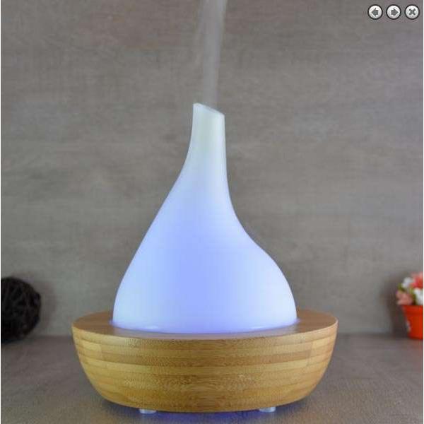 """Diffuseur d'arôme bambou """"Venise"""" ultrasonique pour huiles essentielles Elegansia"""