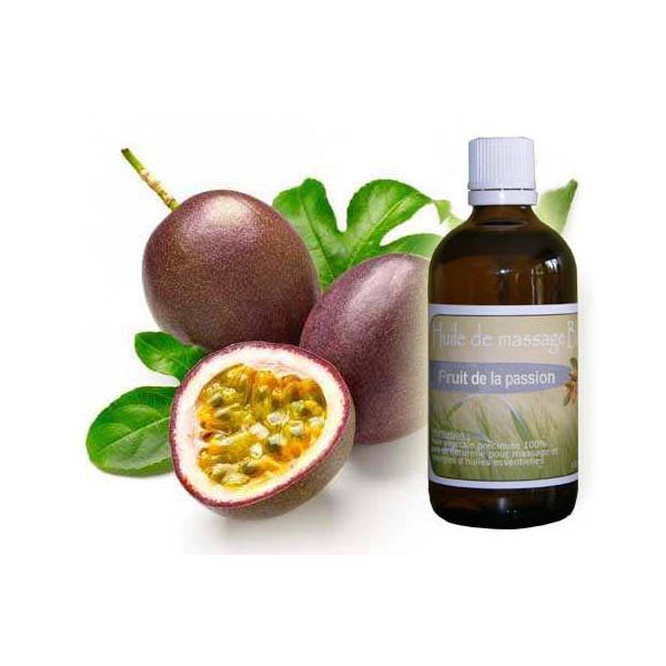 Huile de massage de Fruit de la passion 100 ml