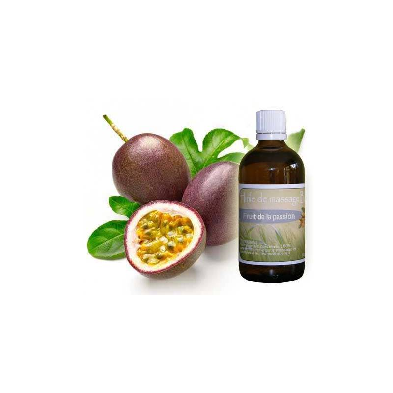 Huile de massage de Fruit de la passion 100 ml
