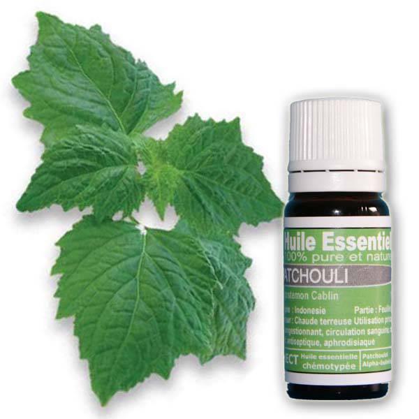 huile essentielle Patchouli Pure et naturelle