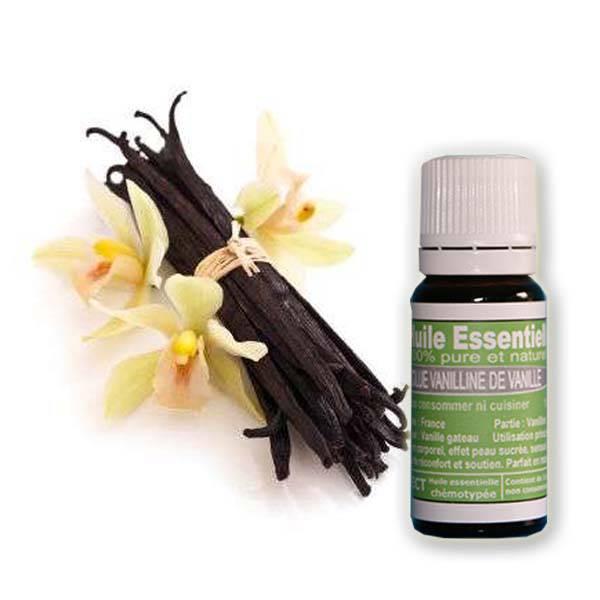 Absolue de vanilline de vanille 10 ml huile essentielle