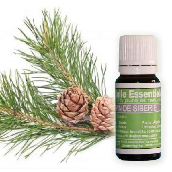 huile essentielle Sapin de sibérie , Eco-Certifiable
