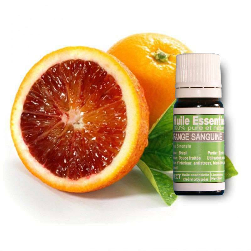 Huile essentielle orange Sanguine, Eco-certifiable