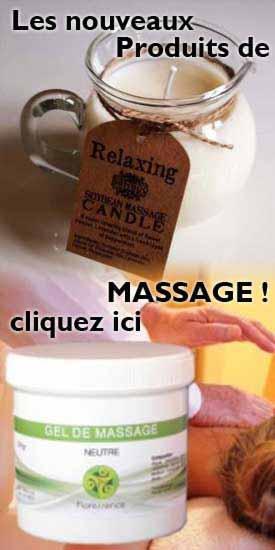 Huiles de massage